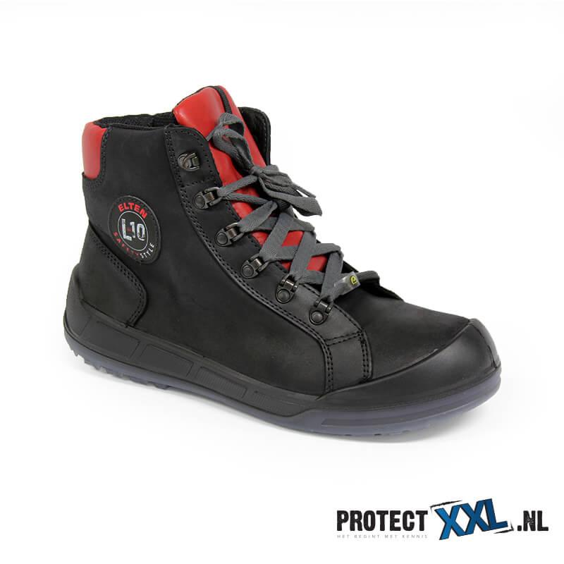 Soepele Werkschoenen.Werkschoenen Elten Deluxe Mid Esd S3 Protectxxl