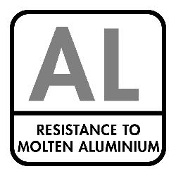 Bescherming tegen vloeibaar aluminium