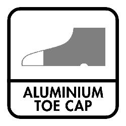Aluminiumneus Bescherming tegen een impact van 200j en weerstaat een compressiekracht van 15.000 newton (1500 kg)