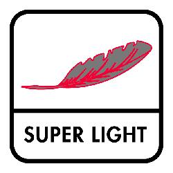 Minimaal gewicht door gebruik van lichte zool- en schachtmaterialen
