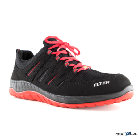 Elten Maddox Black-Red low ESD S3 1