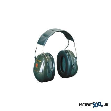 3M Peltor Optime II H520A gehoorkap met hoofdband