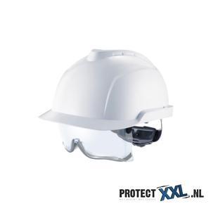 MSA V-Gard 930 ongeventil veiligheidshelm met bril
