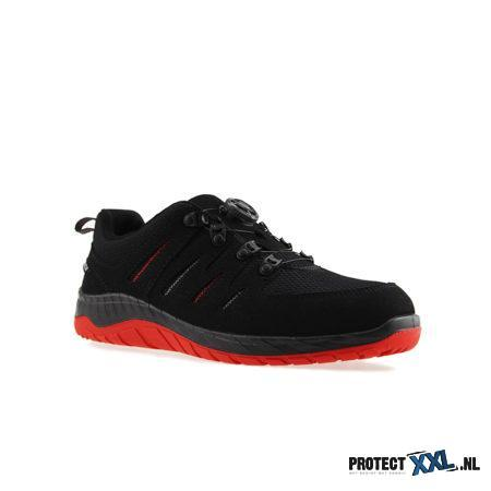 Elten Maddox BOA Black Red Low