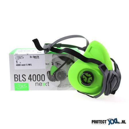 BLS 4000 R halfgelaatsmasker siliconen