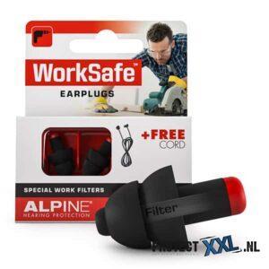 Alpine Worksafe oordoppen