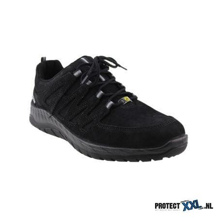 Elten Maddox Black Leather Low
