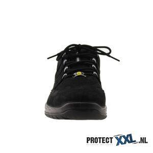 Elten Maddox Black Leather Low